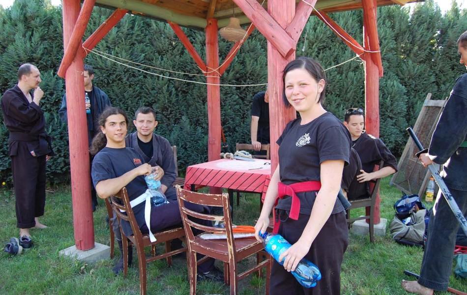 Ela (3Kyu), Adrian (7 Kyu) i Michał (3 Kyu)