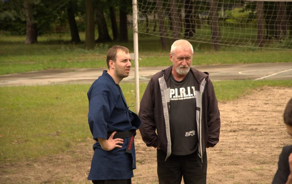 Mirosław Chlebosz 4 Dan z Piotrem Pakuła