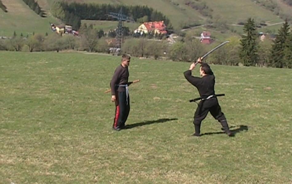 Piotr ćwiczy z Piotrem