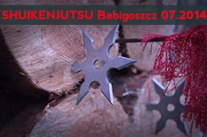 SHUIKENJUTSU Babigoszcz 01.07. 2014