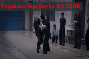 TOGAKURE RYU Berlin 2930.03.2008