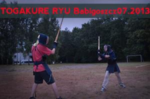 TOGAKURE RYU Ninja Biken Babigoszcz 20.07.2013