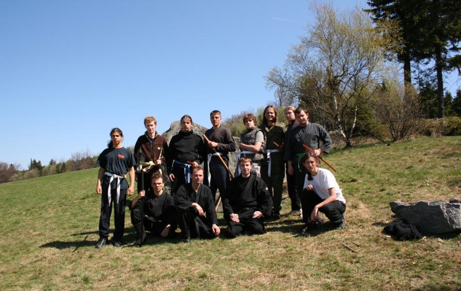 uczestnicy seminarium w Sowich Górach