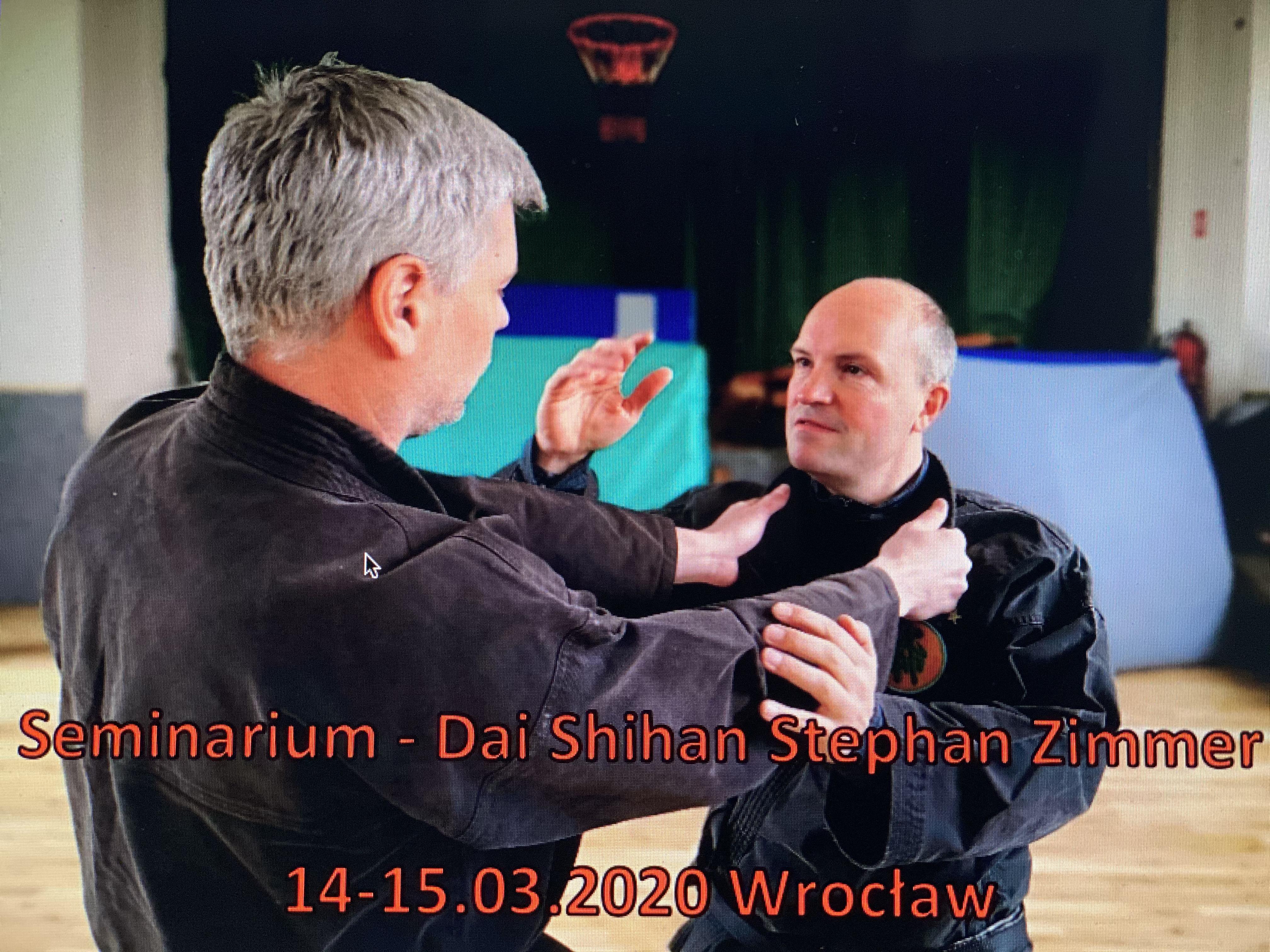 Seminarium –  Dai Shihan Stephan Zimmer